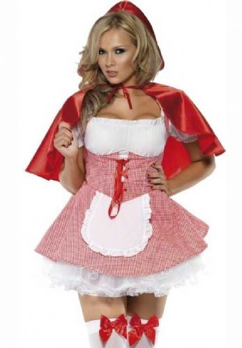 Red Riding Hood - Sexy Fancy Dress (Smiffys 27043)